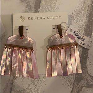 Kendra Scott Layne Rose Gold Earrings NWT